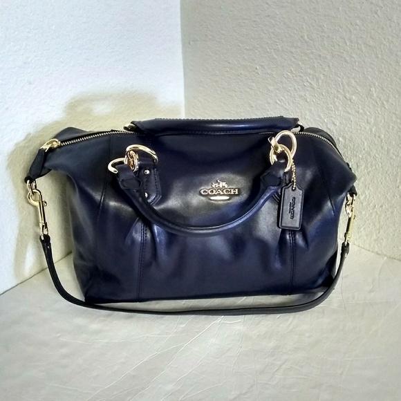 ec2a4fc434 ... sweden nwt coach colette satchel purse. 3e5ad 83a8e